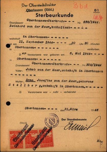 Oorlogsbronnen: Duitse Aktes